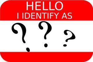 Self Identity Name Tag