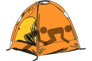 Tent Rimming