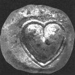 Silphium Heart Symbol Coin
