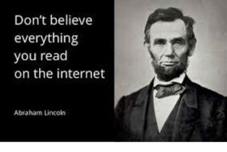 Abe Lincoln Internet